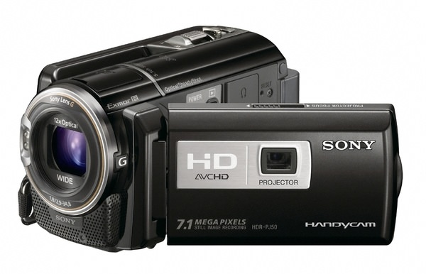 Product Image - Sony Handycam HDR-PJ50V