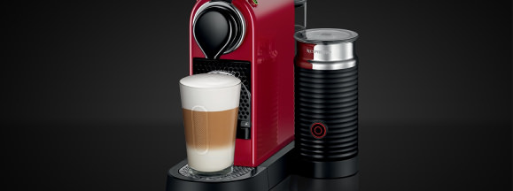 Nespresso citiz and milk