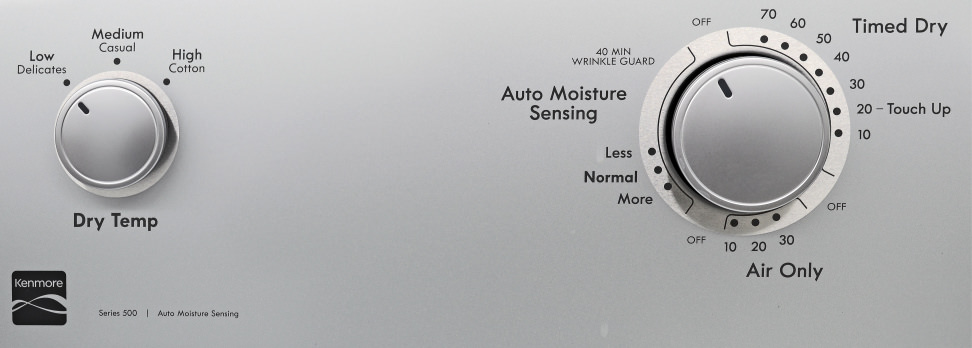 Kenmore 65132 Cycles