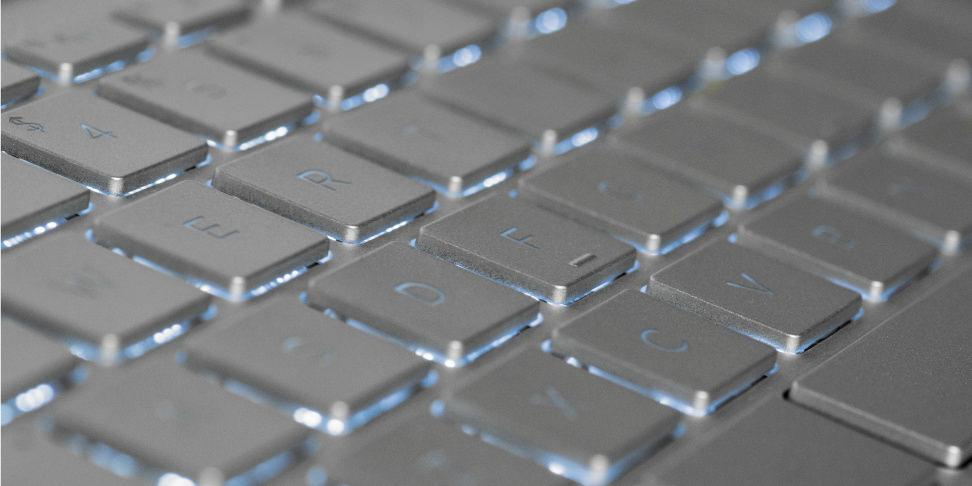HP Spectre X360 15-inch Keyboard Keys