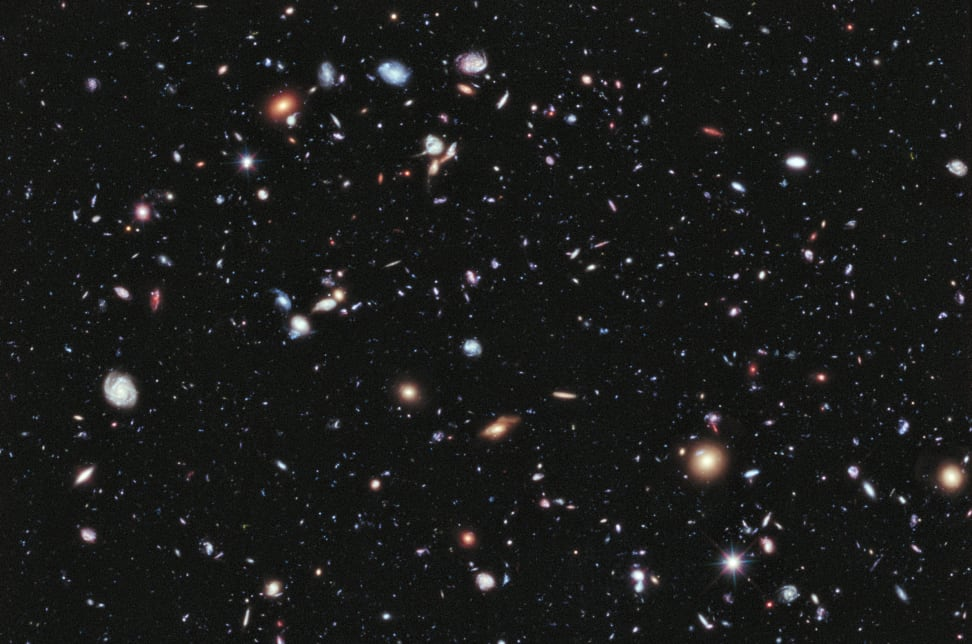 The Hubble Extreme Deep Field (2012)