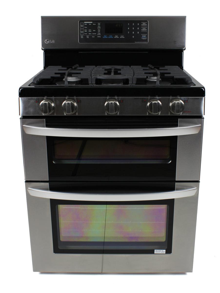 Lg double oven gas range reviews - The Lg Ldg3036st Gas Range