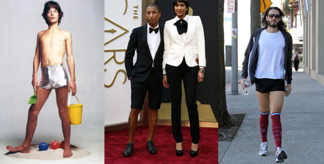 Celebrities Embrace Short Shorts