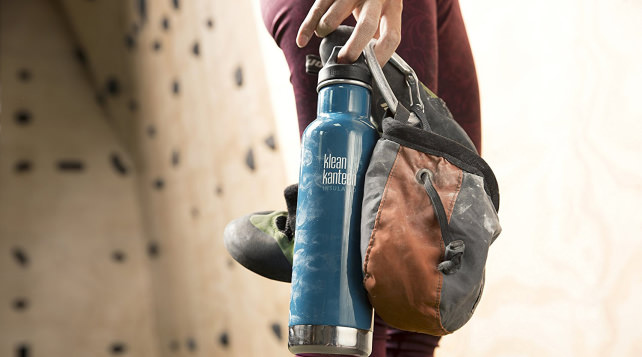 Klean Kanteen Double Wall Vacuum Insulated Bottle