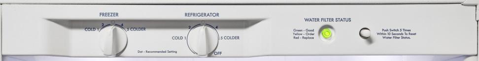 Kenmore-51122 Controls