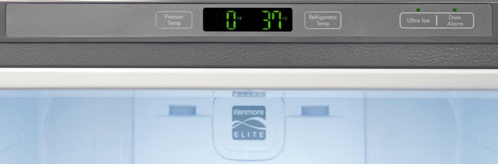 Kenmore Elite 79043 Controls
