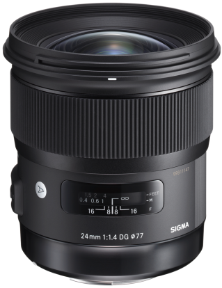 Product Image - Sigma 24mm f/1.4 DG HSM | A