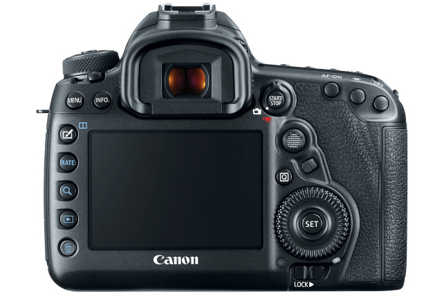Canon 5D Mark IV Rear View