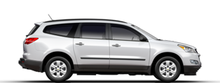 Product Image - 2012 Chevrolet Traverse LTZ AWD