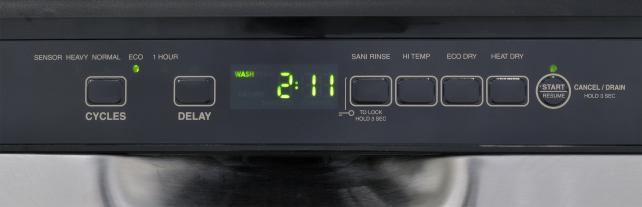 IKEA IUD7555DS Cycle Controls