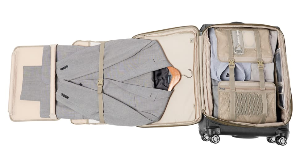 """Travelpro Platinum Magna 2 29"""" Expandable Spinner Suiter interior"""