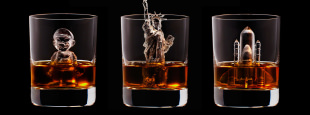 Suntory ice cubes hero composite