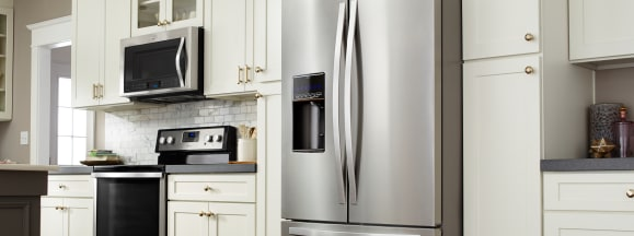 Whirlpool stainless steel kitchen appliance trends hero