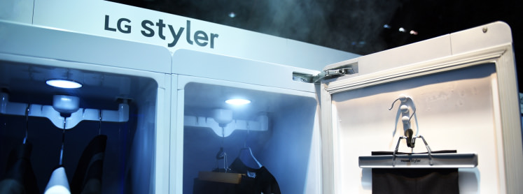 Captivating New LG Styler Steam Closet Will Keep You Looking Good