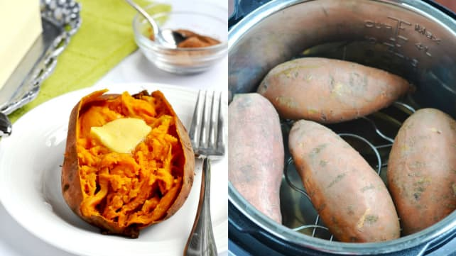 Instant Pot Sweet Potato