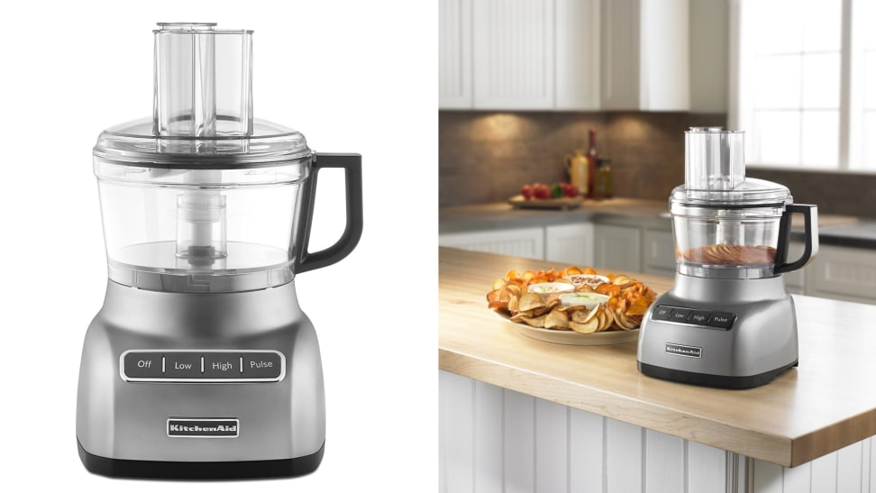 the kitchenaid 7 cup food processor is on sale at amazon cooking. Black Bedroom Furniture Sets. Home Design Ideas