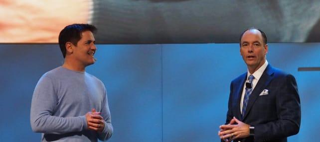 Mark Cuban and Samsung's Tim Baxter
