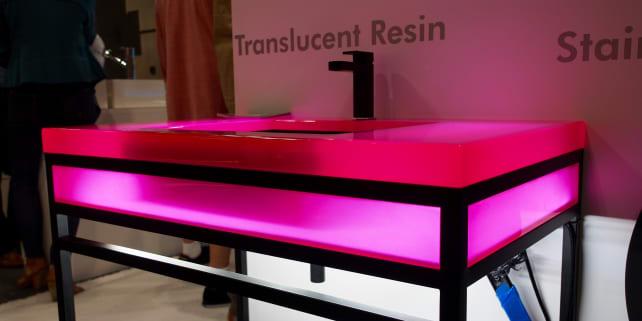 Neo-Metro Translucent Resin Sink
