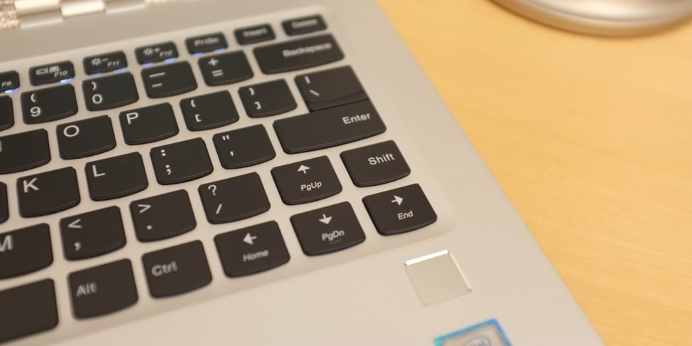 Lenovo Yoga 910 shift key