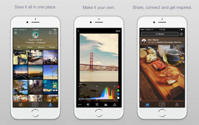 хранение фото приложение для ipad