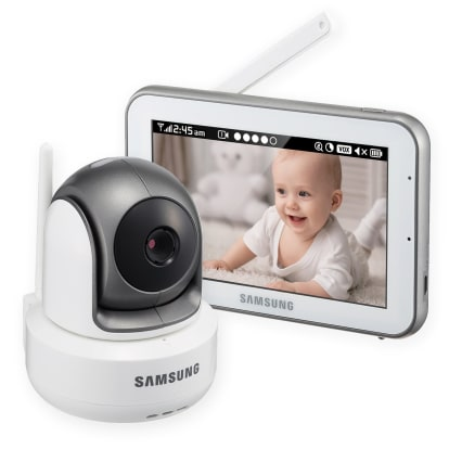 Product Image - Samsung SEW-3043W BrightVIEW HD Baby Monitoring System