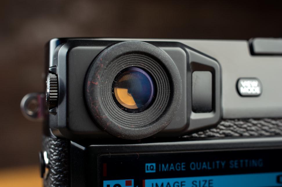 Fujifilm X-Pro2 Design Viewfinder