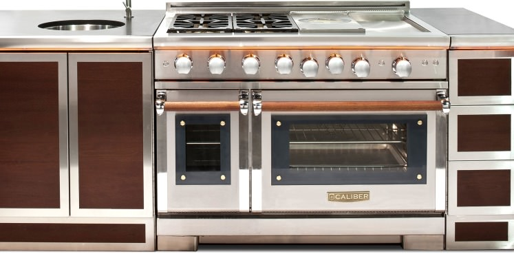 Caliber goes indoors and upmarket ovens for Best high end appliances